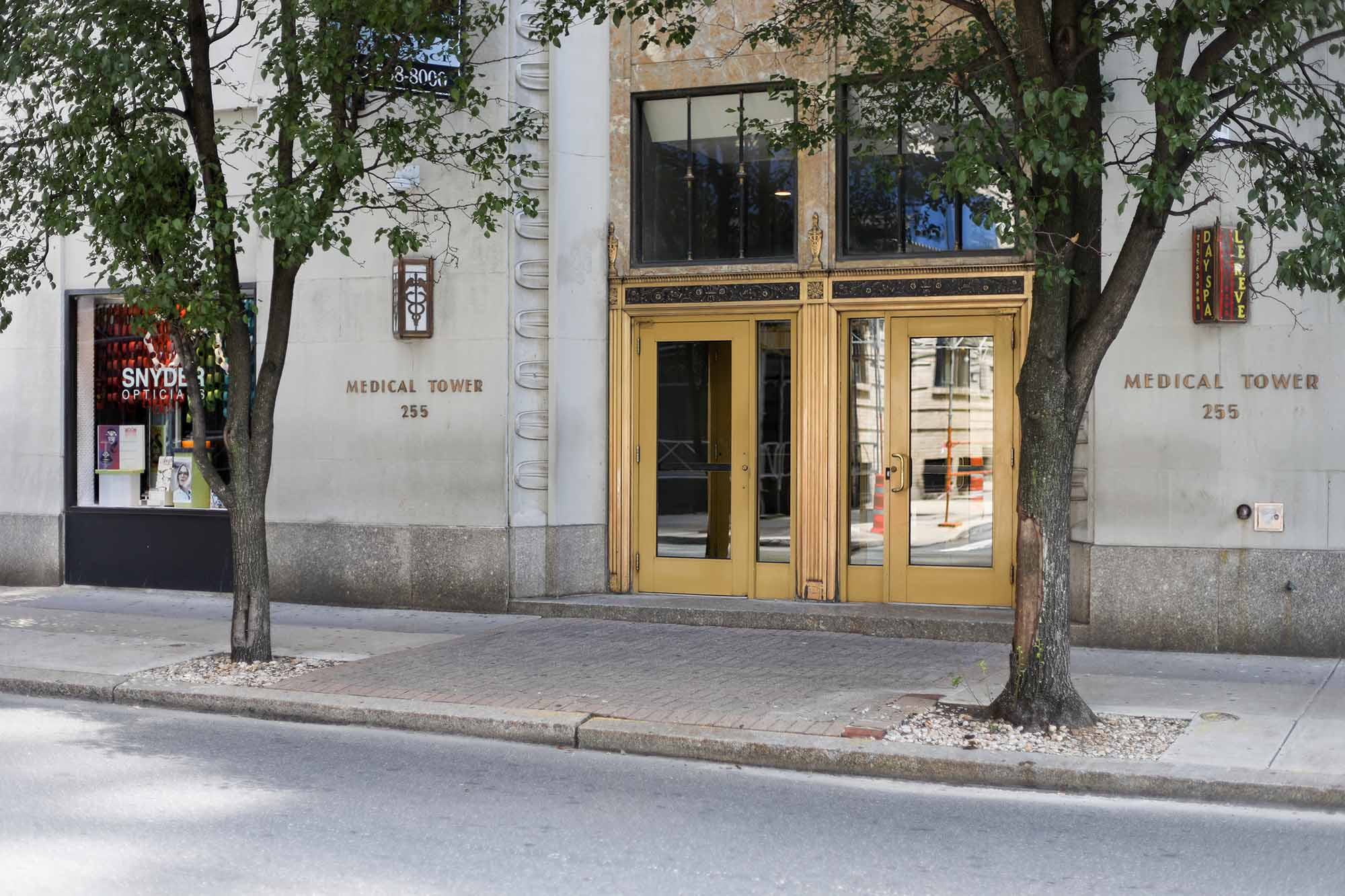 Spruce Chiropractic Health Center is located in the Medical Tower, Rittenhouse Square Philadelphia